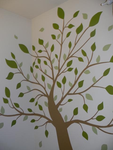 diy wall vinyl decal tree | sheekgeek