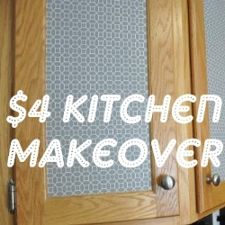 $4 Kitchen Makeover