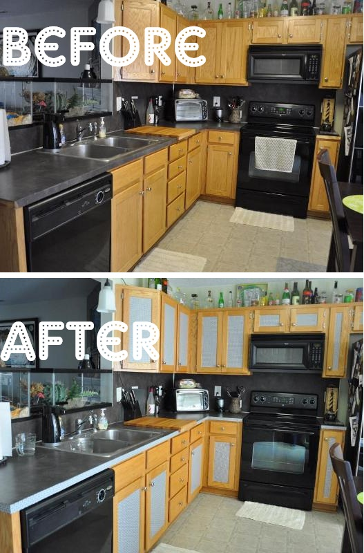 My $4 Kitchen Makeover