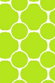 Circle Pattern Green and White Sample