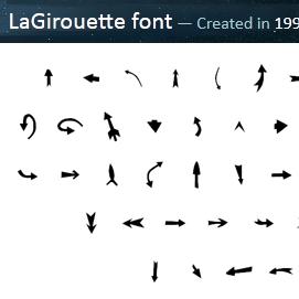 LaGirouette Font Thumbnail