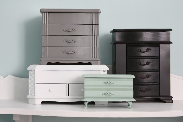 Revamp your jewelry box with this redo roundup sheekgeek for Old jewelry box makeover