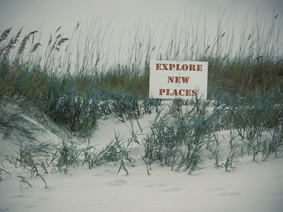 """Explore New Places"" Photo Art by Jessica of SheekGeek"