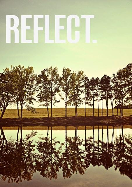 Reflect Tree Photo Art Created by Jessica of SheekGeekrning again.