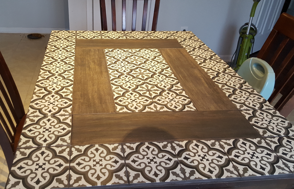Revamp Your Old Kitchen Table With This Diy Tile Idea Sheekgeek